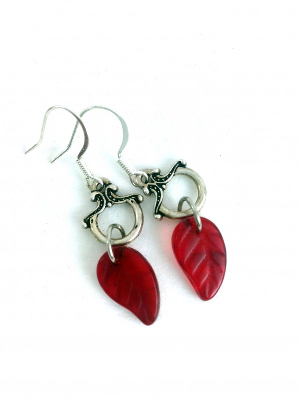 red_leaf_earrings